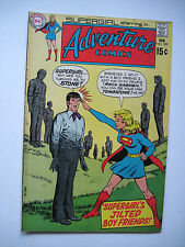 Adventure Comics/Supergirl #389 (DC, 2/70) VG/FN 15₵ Cover. Anderson/Swan-a.