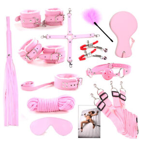 Cozy Feel 12PC Slave Bondage Set SM kit Under Bed Restricted Toys BDSM