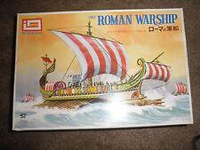 IMAI 50 B.C. ROMAN WARSHIP  SAILING VESSEL MODEL KIT.- unused