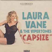 Laura Vane&The Vipertones-Capsize Promop cd single