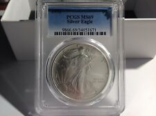 1993 PCGS MS69 Silver Eagle. BL4E