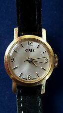 Oris Polished Wristwatches with 12-Hour Dial