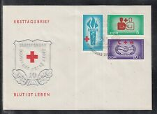 East Germany DDR 1966 Cooperation Red Cross of  beautiful FDC