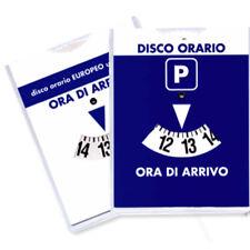 Disco Orario Parcometro Per Auto Parcheggio Europeo 15 Cm Grande Sosta A Ore 597