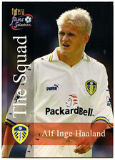 Alf Inge Haaland Leeds United #120 Futera 2000 Football Trade Card (C347)