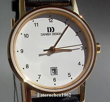 Danish Design Damen-armbanduhr XS analog Quarz Leder 3326422