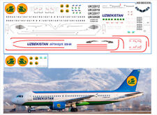 1/144 PAS-DECALS. REVELL. Decal for Airbus A320 Uzbekistan Airlines
