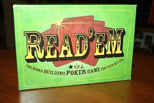 Read 'Em - The Word Building Poker Game You Can Bet On! - Family Fun Game!