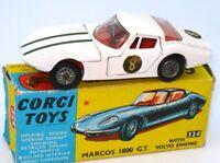 CORGI NO. 324 MARCOS VOLVO 1800 GT - BOXED