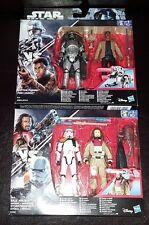 Star Wars Baze malbus + Stormtrooper & Capitán phasma + Finn. 2 X 2 Packs Figura