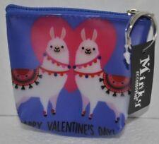 Cute Alpaca llama Coin Purse Pouch Bag Wallet Keychain NEW