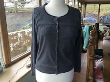 Principles Ladies Grey Long Sleeve Button Fastening Cardigan -  XL