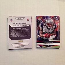 #915 Patrick Chung Oregon MVP 2016 / 2017 Patriots Super Bowl LI Champions card