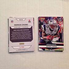 #915 Patrick Chung Oregon MVP 2016 / 2017 Patriots Super Bowl LI Champions card