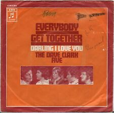 "THE DAVE CLARK FIVE ""EVERYBODY GET TOGETHER"" SP 1970  COLUMBIA"