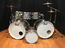 Pearl Export Drum Set 7 Piece Double Bass Grindstone Sparkle-Zildjian Cymbals