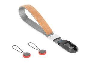 Brand New Peak Design Cuff Camera Hand Wrist Strap Ash Quick Release CF-AS-3