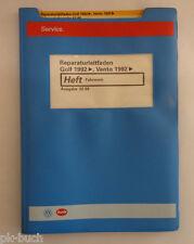 Werkstatthandbuch VW Golf III / Vento Fahrwerk Stand 02/1996