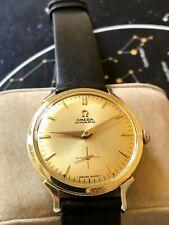 Vintage 1951 Omega Automatic men's watch, Art Deco case, Ref F6238