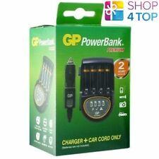 GP Powerbank Premium Chargeur Pour Aa AAA Nimh Piles H500 PB50 Auto Cordon Neuf