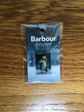 Barbour The Snowman And The Snowdog Limited Edition Collector's Pin