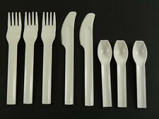 PLASTIC Airway Cutlery - Joe Colombo for ALITALIA - 8 Piece Set