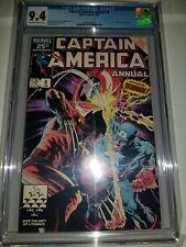 Captain America Annual #8 CGC 9.4
