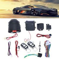 Car Alarm Start Safety Keyless Entry System Push Button Remote Control Starter