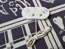 Wii - Original Controller / Pad #weiß Classic Gamepad RVL-005 [Nintendo]