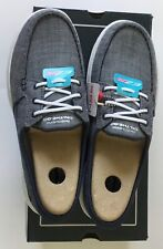 Skechers Womens Go Walk Fabric Low Top Lace up Walking Shoes Navy Size 11