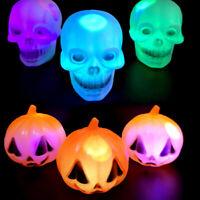Halloween Light LED Pumpkin Skull Lamp Horror Skeleton Lamp Halloween Decor