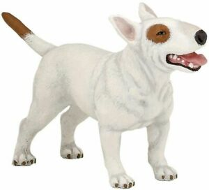Papo Dog Bull Terrier Animal Toy figure Replica 54027 NEW Free Shipping