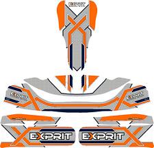 2017 exprit Style Complet Kart Kit Autocollant-Karting-Otk-jakedesigns