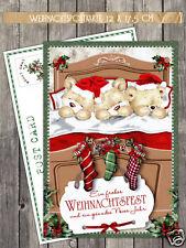 "10 Weihnachtskarten ""Christmas Dreams"" - Postkarte 17,5 x 12 cm"