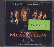 MICHAEL KAMEN - The three musketeers - BRYAN ADAMS STING CD OST 1993 NEAR MINT