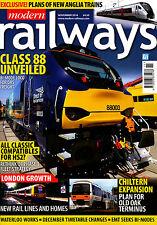 MODERN RAILWAYS 818 NOV 2016 InnoTrans Berlin,Chiltern Oxford,SWT Waterloo,Irish