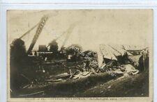 "(Lg5440-183) Smash of The ""Flying Welshman"", Llanelli 1909 Used G-VG"