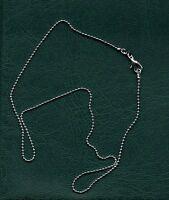 Chaîne de cou en argent  - 46 cm