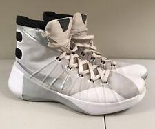 Nike Zoom Hyperdunk 2015, 749645-100, White, Men's Basketball Shoes, Size 10.5
