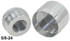 Maglite D Cell 5/8-24 Replacement Protective Combo Threaded End Caps -035/080U