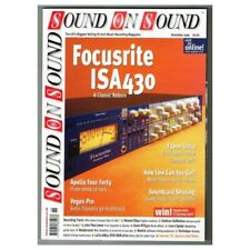 Sound on Sound Magazine November 1999 mbox1174 Focusrite ISA430 - E5000 Ultra