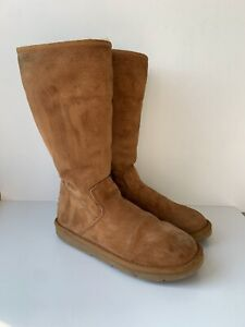 UGG Australia 5683 Sunset Zipped Booties Women's Winter Boots US 9 UK 7.5 EU 40