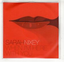 (GV64) Sarah Nixey, When I'm Here With You  - DJ CD