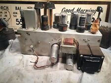 Vintage working Rca 6V6 Tube Power Amplifier from 1950's Mi-13441 Telecine