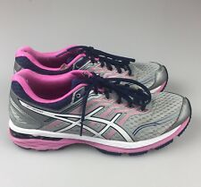 Asics GT 2000 Version 5 Women's Running Shoes Size US 9.5 Silver Pink Blue T757N