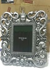 Disney Parks Silver Hidden Villains Maleficent  Picture Photo Frame 5 x 7 Ursula