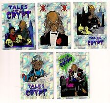 Tales From The Crypt 1994 Vending  Prism Sticker Card Set B (5)