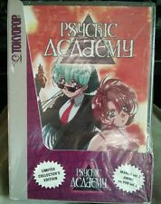 Psychic Academy vol 2  Limited Collector's Edition, Book & DVD anime FREE SHIP