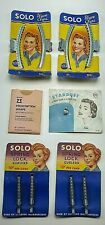 Vintag Hair Lot Nemo Stardust Pin Solo Wave Clips Curlers Zotos Wraps Rockabilly