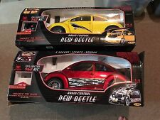 Volkswagen VW New Bright Red Or Yellow Beetle 1:6 Scale Radio Control RARE!